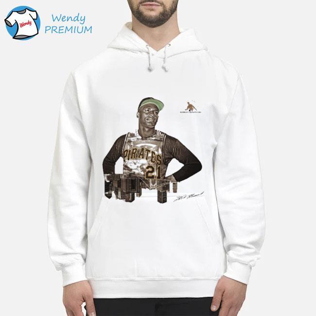 Pittsburgh Pirates Roberto Clemente Number 21 Shirt Hoodie