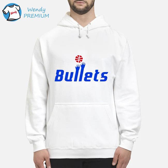 Washington Bullets Shirt Hoodie